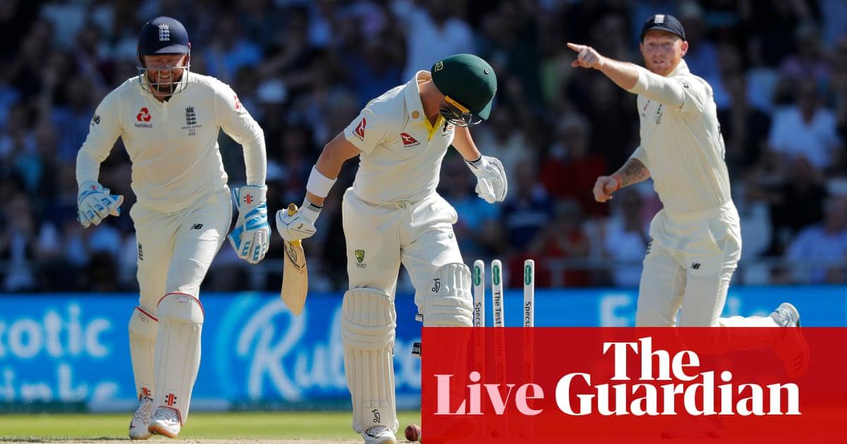 Ashes 2019: England skittled for 67 v Australia, third Test day two –live!