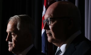 Malcolm Turnbull and George Brandis