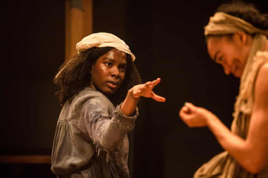 Vivian Oparah and Cassie Clare in An Octoroon.