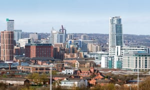 Leeds skyline in 2011