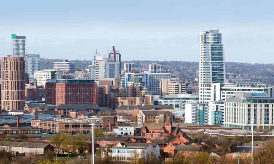 Leeds skyline in 2011