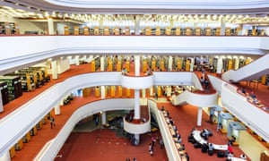 Toronto Reference Library is the largest public reference library in Canada and one of the three largest libraries in the world.