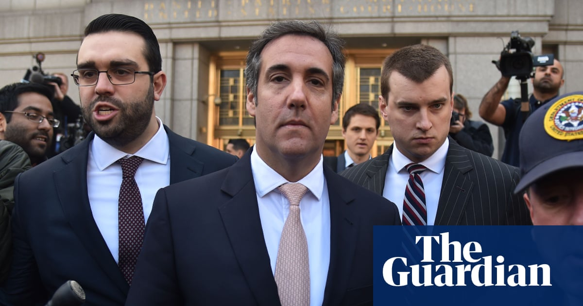 Michael Cohen, Trump's former lawyer, to appear in court in New York
