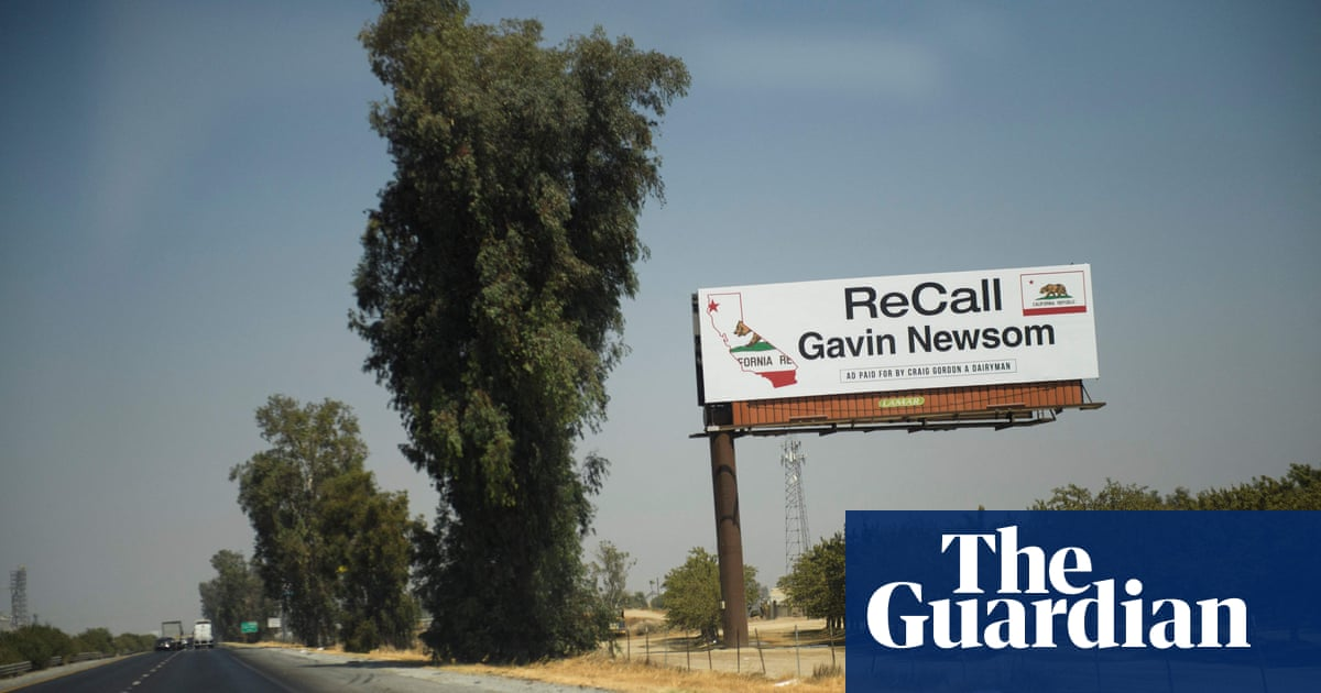 'I barely know what the recall is': central California voters puzzle over crucial vote