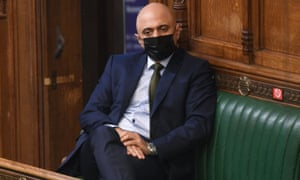 New health secretary Sajid Javid in the House of Commons in March.