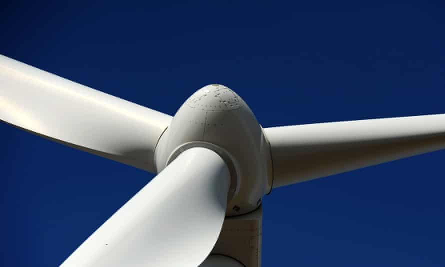 A wind turbine in Victoria