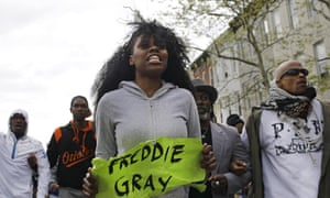 freddie gray protesters
