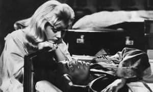 Sue Lyon and James Mason in Lolita (1962), directed by Stanley Kubrick.