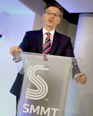 Mike Hawes, chief executive of the SMMT