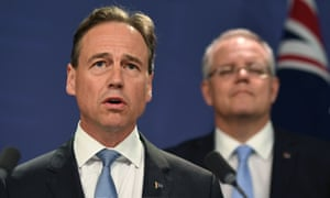 Greg Hunt and Scott Morrison