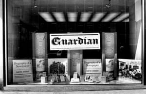 In 1971 David Ayerst's Biography of a Newspaper was published. A coinciding exhibition celebrating the Guardian's 150th birthday opened to the public in the Deansgate foyer. (Archive ref. GUA/6/9/1/4/G).