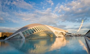 City of Arts and Sciences building, Valencia, Spain.