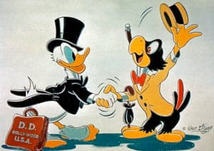 Cultural coup … Donald Duck in The Three Caballeros, 1944.