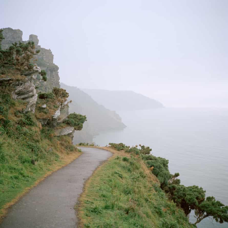 A coastal path near Lynton, Devon
