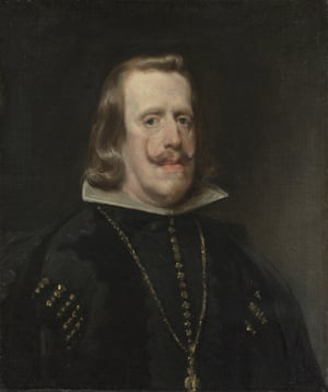 Philip IV of Spain portrait by Diego Velázquez