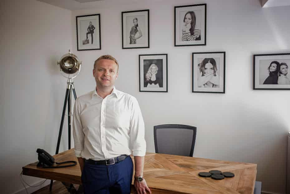 Dominic Smales, CEO of Gleam Futures, an agency for influencers.