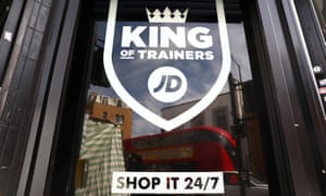 JD Sports shop window