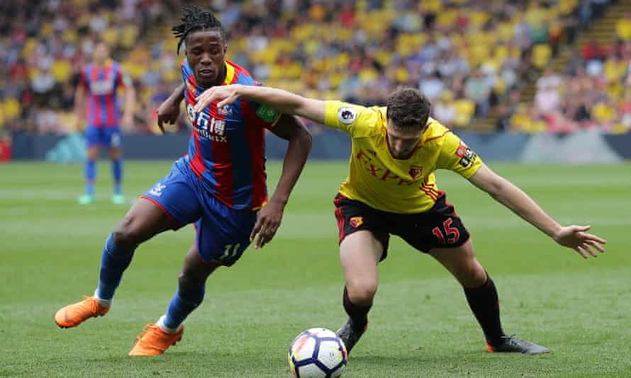 Wilfried Zaha has a fractious relationship with Watford