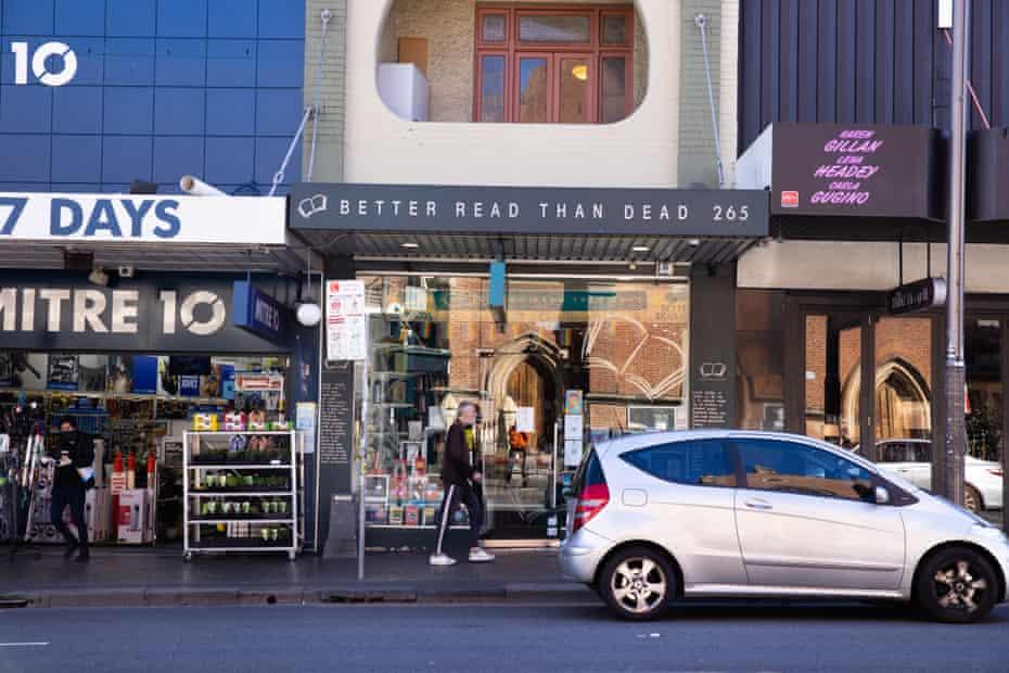 Better Read Than Dead bookstore, King Street, Newtown. Sydney Australia.