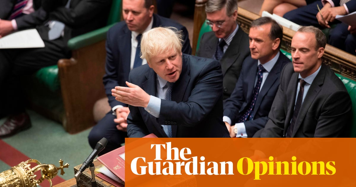 Johnson is acting like a winner  But reality may have other
