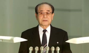 Kim Yong-nam chairs the top decision-making body of North Korea's rubber-stamp parliament