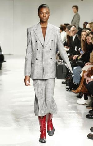 Calvin Klein, autumn/winter 2017, at New York fashion week.