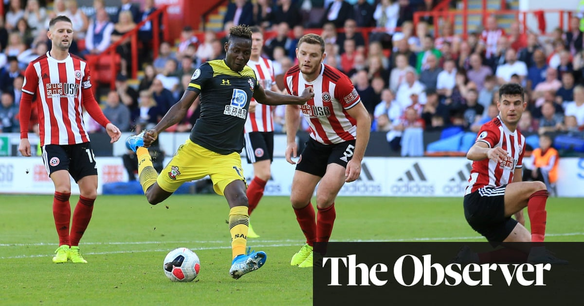 Moussa Djenepo's solo strike seals points for Saints at Sheffield United