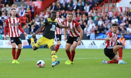 Moussa Djenepo's solo strike seals points for Saints at Sheffield United
