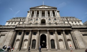 The Bank of England is likely to leave interest rates on hold on Monday.