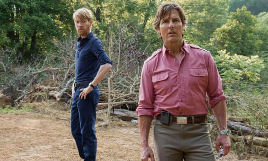 Domhnall Gleeson and Tom Cruise in American Made, which took less than £1m at the weekend yet still ended up on top.