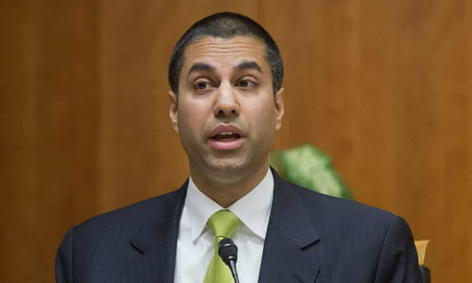Federal Communication Commission head Ajit Pai ... 'The more heavily you regulate something, the less of it you're likely to get.'