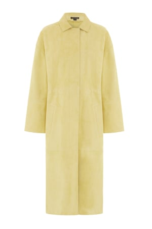 Duster coat, £799, by Whistles.