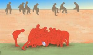 Illustration by Nicola Jennings.