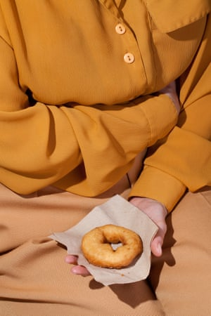 An image from Kelsey McClellan and Michelle Maguire photography series Wardrobe Snacks