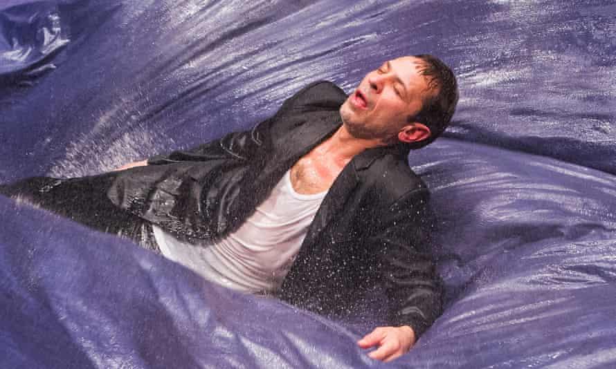 Aleh Sidorchyk in King Lear by Belarus Free Theatre.