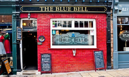 The Blue Bell pub in Fossgate, York