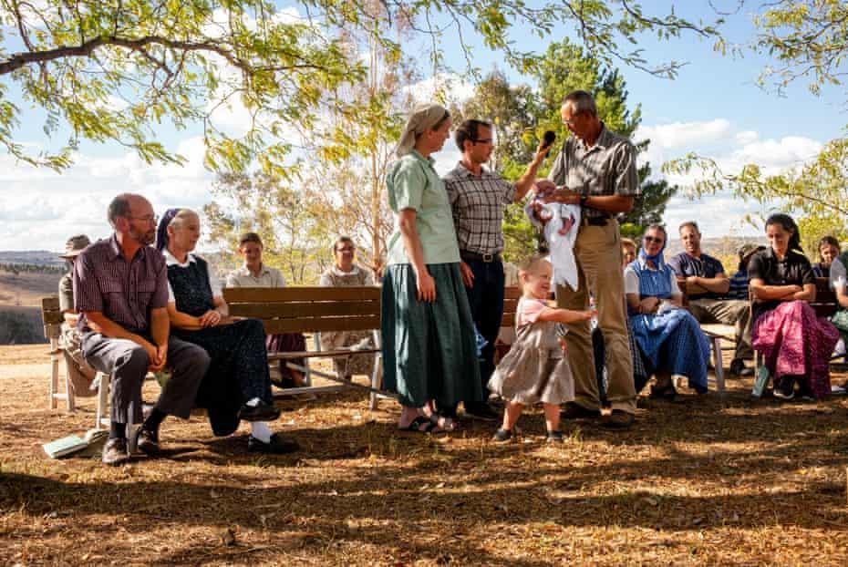 Baby show, Danthonia Community, Australia.