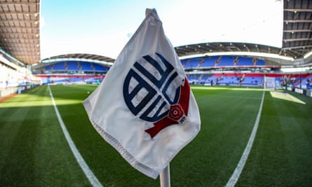 A general view of Bolton Wanderers' stadium