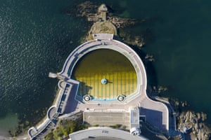 The Tinside Lido at Plymouth Harbour
