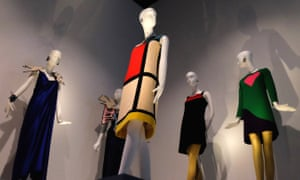 Yves Saint Laurent show at the Bowes Museum