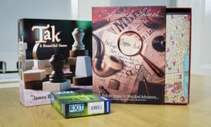 This month's look at the best new board games features Tak, Exit: The Game and Sherlock Holmes: Consulting Detective