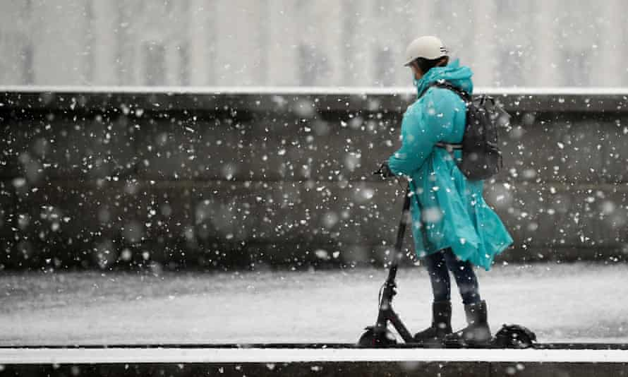 Cold and damp weather was deemed to make a costly electric scooter out of warranty.
