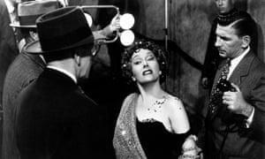 Gloria Swanson in Sunset Boulevard.