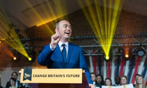 Tim Farron Launches The Liberal Democrat Manifesto In LondonLONDON, UNITED KINGDOM - MAY 17: Liberal Democrat leader Tim Farron launches the party's manifesto at the Oval in east London for the 2017 General Election. May 17, 2017 in London, England. PHOTOGRAPH BY Wiktor Szymanowicz / Barcroft Images London-T:+44 207 033 1031 E:hello@barcroftmedia.com - New York-T:+1 212 796 2458 E:hello@barcroftusa.com - New Delhi-T:+91 11 4053 2429 E:hello@barcroftindia.com www.barcroftimages.com