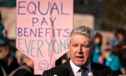 Labor's shadow industrial relations minister Brendan O'€™Connor says many Australian workers 'do not have a bargaining representative to help them get a better deal or an advocate at their workplace to stand up for their rights'.