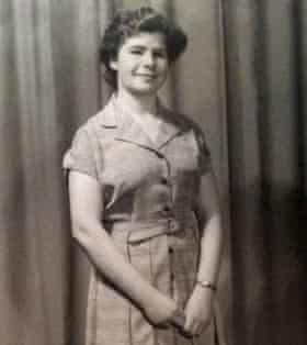 Old black and white photograph of actor and director Anthony Ekundayo Lennon's mother