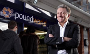 Chris Edwards, founder of Poundworld.