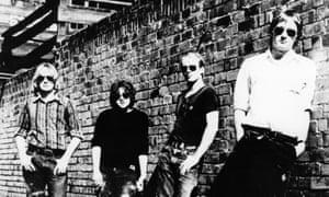 Kym Bradshaw, Chris Bailey, Ivor Hay and Ed Kuepper of the Saints