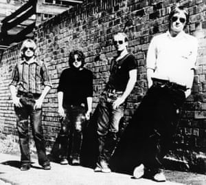 The Saints: Kym Bradshaw, Chris Bailey, Ivor Hay and Ed Kuepper.