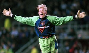 Peter Schmeichel's performance against Newcastle was crucial to Manchester United's 1-0 win in March 1996.